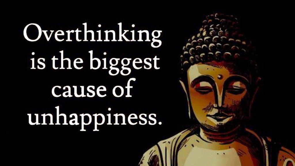 Buddha Overthinking