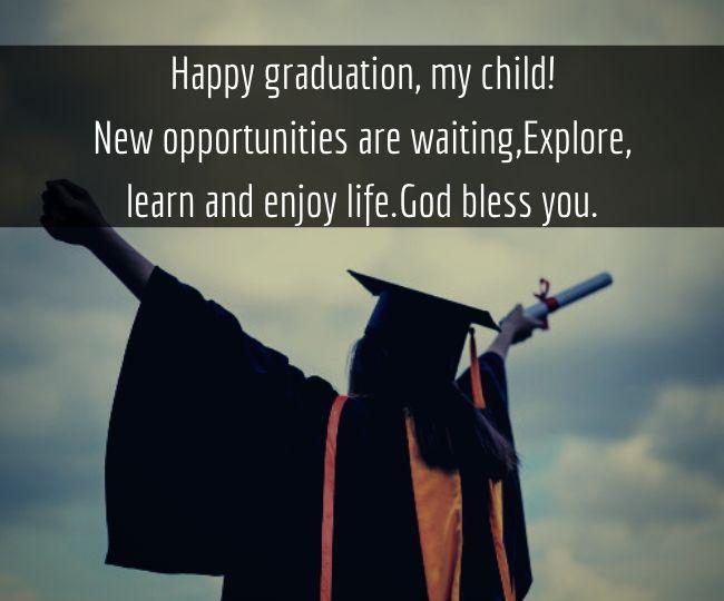Happy Graduation My Child