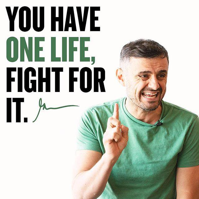 One Life Fight For It