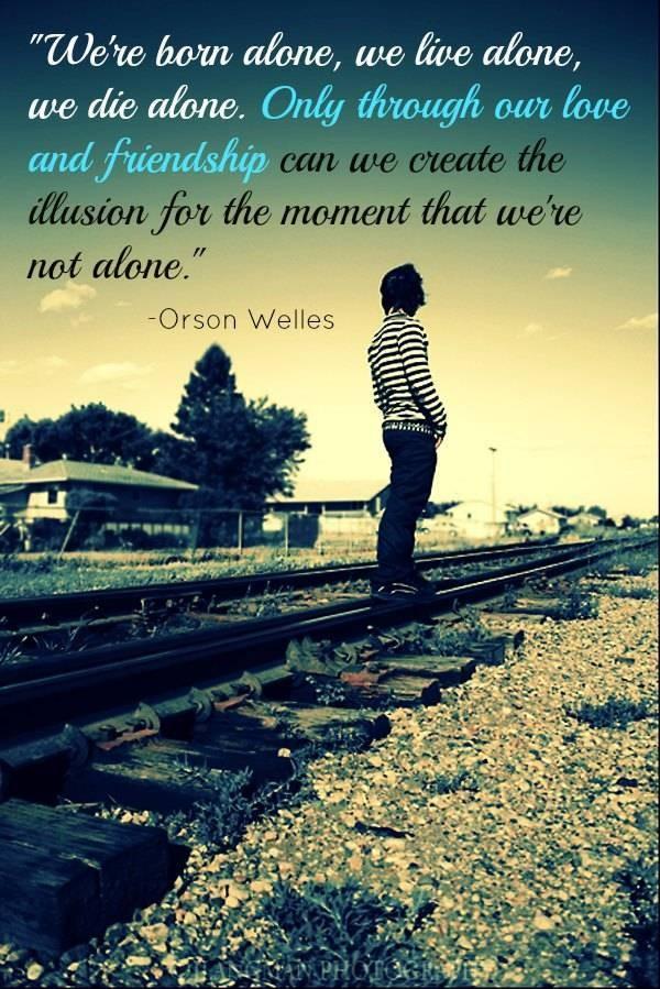 We Live Alone