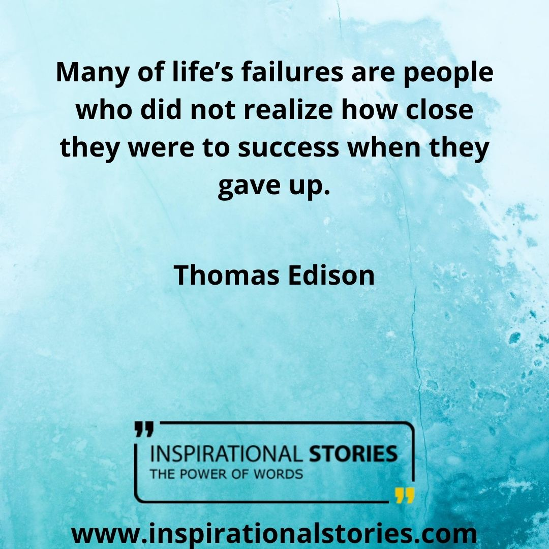 Thomas A Edison Quotes