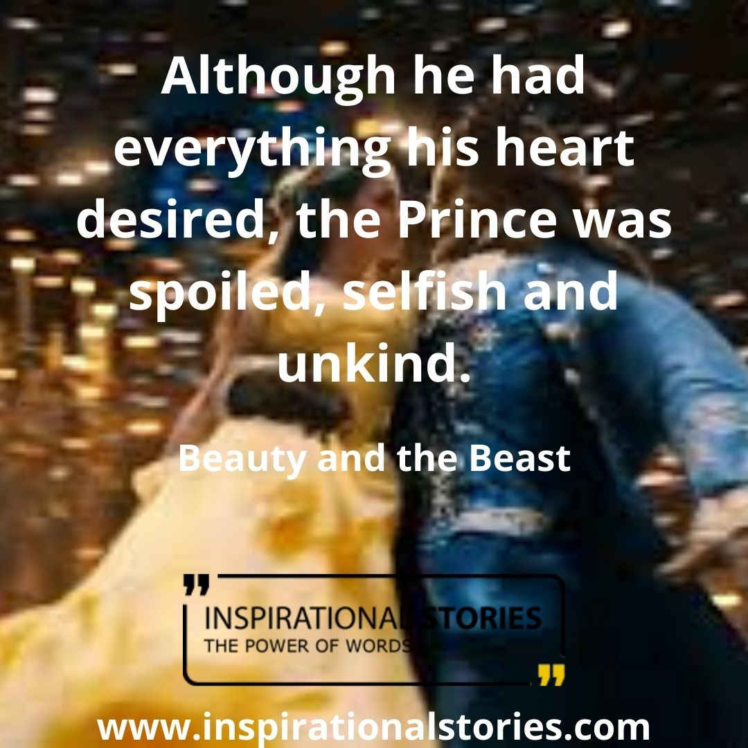 Beauty And The Beast Quotes And Sayings
