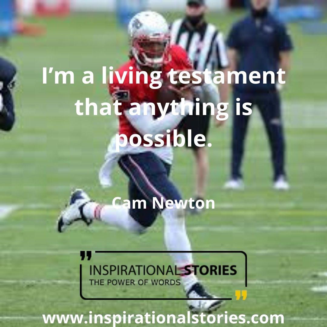 Cam Newton Quotes